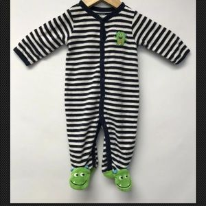 Carters Boys Size 3 Months One Piece Footed